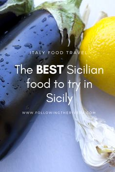 The best Sicilian food. Don't visit the Italian island of #Sicily without trying at least 5 of these classic #Sicilian dishes. You won't regret it! #Travel #Traveltips #Italia #Italy #Sicilia #Foodtravel