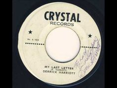 Derrick Harriott - My Last Letter