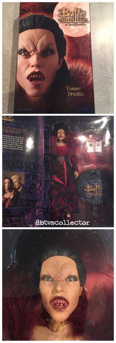"Sideshow Collectibles (1:6 Scale) 12"" Buffy the Vampire Slayer Figure - Vampire Drusilla. #btvscollector #btvs #buffy #buffythevampireslayer"