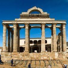 Templo de Diana in Merida, Extremadura.