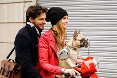 #fashion #style #travel #vespa #dog