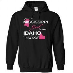 JustHong002-031-Idaho GIRL - #trendy tee #navy sweater. GET YOURS => https://www.sunfrog.com/Camping/1-Black-79089527-Hoodie.html?68278