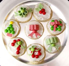 Decorated Cookies | Candy Decorated Christmas Sugar Cookies