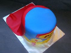 For a 3 year old! Superman Cakes, Lunch Box, Bento Box