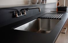 Richlite and Paperstone countertops: Nov 2014 article Voila Park Kitchen with PaperStone Countertop, Remodelista