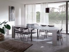 Tables transformable et extensibles, chaises modernes, tabourets design, console à rallonges, complements modernes