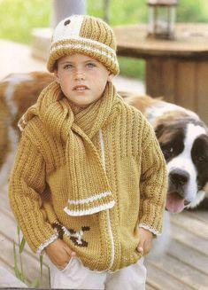 Ajuar Del Bebê N° 10-Revista Tricô Para Bebês Crochet Hats, Knitting And Crocheting, Tricot, Computer File