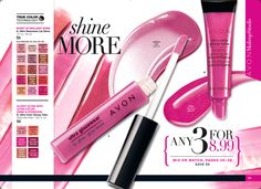 Ultra Glazewear #Lipgloss, a burst of brillant shine. 3 for $8.99 in Campaign 9. www.youravon.com/dsheckler #avon #makeup #lips