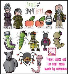 Like -MelonHeadz: James and the Giant Peach bundle