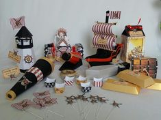 Festa Piratas do Caribe | Creative Kits | Elo7