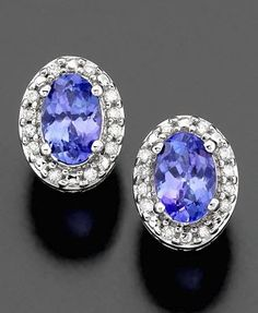 Tanzanite earrings to match my engagement ring