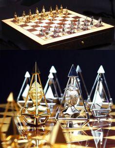 Prepossessing Luxury Charles Hollander Luxury Gold Diamond Chess Set