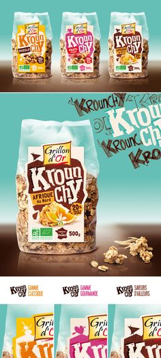 Grillon d'Or - Krounchy on Behance