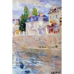 Buyenlarge 'The Sky in Bougival' by Berthe Morisot Painting Print