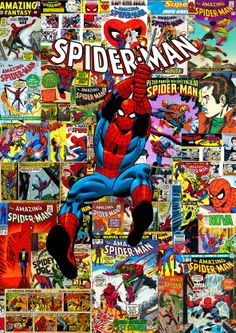 Spider-man covers retro 60-70