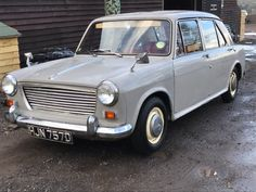 70s Cars, Cars Uk, Classic Bikes, Classic Cars, Austin Cars, Morris Minor, Abandoned Cars, Commercial Vehicle, Barn Finds