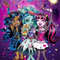 Monster High Super Fan but will on occasion spend way too much on other doll lines. Soirée Monster High, Festa Monster High, Monster High School, Monster High Characters, Monster High Birthday, Love Monster, Personajes Monster High, Walt Disney, Ever After High