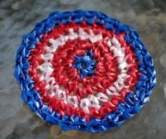 DIY Crochet DIY Yarn: DIY Plarn Placemats and Coasters Crochet Pattern