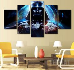 Darth Canvas LIMITED EDITION - The Nerd Cave - 4