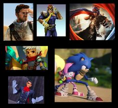 Gaming characters that wear a scarf