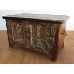 Zelda Rustic Wooden Chest  $599.00