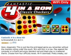 FREEbie: Today's FREE Android App! Fantastic 4 in a Row HD!