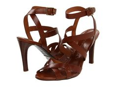 BURBERRY crossover ankle strap