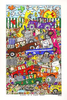 James Rizzi: Birds In A Junk Yard