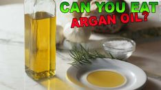 Can You Eat Argan Oil? You can't eat the stuff you put in your hair as it's probably got a very low level of argan oil in it, along with a few other chemicals. But you can eat pu Argan Oil Hair, Hair Oil, Argan Oil Benefits, Dry Scalp, Moroccan Oil, Shiny Hair, Moisturiser, Dandruff, Damaged Hair