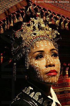 Yakan woman. Basilan,  Philippines