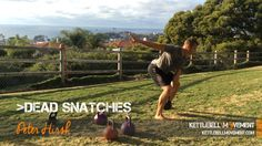 This is a mini workout and lesson on the dead kettlebell snatch. This video will teach you how to maximize your power and capability when snatching weight
