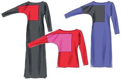 McCall's 6792 Color-blocked Top or Dress