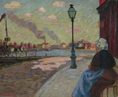 """""""The Seine At Charenton,""""Armand Guillaumin, 1875."""