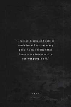"Yup! Being ""quiet"" doesn't define my personality AT ALL. I actually care for everyone and everything."