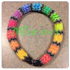 Rainbow Loom Hexafish 6 Pin Fishtail Bracelet | eBay