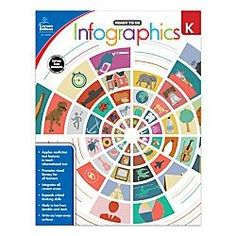 Carson-Dellosa Ready To Go Infographics Workbook, Kindergarten Algebra Cheat Sheet, Nonfiction Text Features, Carson Dellosa, 21st Century Learning, Science Topics, Critical Thinking Skills, Latest Books, Ready To Go, Math Lessons