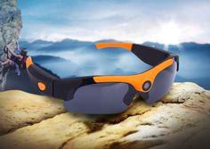 SM 16 Multi-function 120 Degree Wide Angle Eyewear Sunglasses Camera Video Recorder