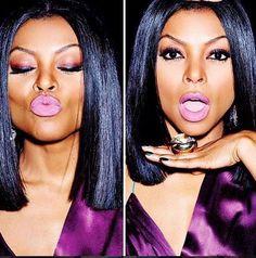Tarajii Henson straight cut middle part bob Weave Hairstyles, Straight Hairstyles, Locks, Divas, Short Hair Styles, Natural Hair Styles, My Hairstyle, Relaxed Hair, Love Hair