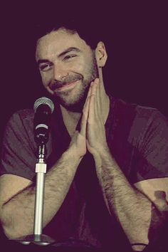 Aidan Turner..................Why do I have the feeling he is up to spmething?lol