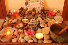 spiritual garden/nature table - for peace, meditation, and creative inspiration
