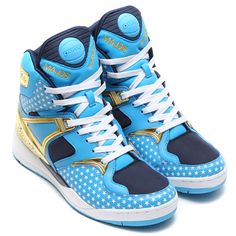 #MAJOR x #Reebok The Pump - Blue/Matte Gold/White/Collegiate Navy #sneakers