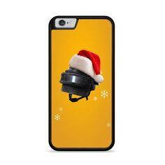 Pubg Mobile Happy Santa And Christmas iPhone 6 Plus Plastic Material, 6s Plus Case, Iphone 6, How To Apply, Santa, Phone Cases, Happy, Prints, Christmas
