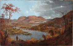 Jasper Cropsey (1823-1900), Starucca Vale, 1896, Oil on canvas, 46 ¼ x 68 ½ inches, Bequest of Richard M. Scaife, 2015.49