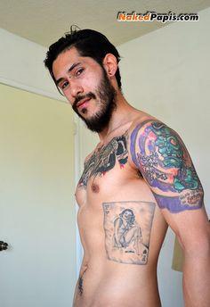 Rome tatted sexy Latin papi #lowkey