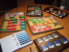 Pantone Cookies - Awesome