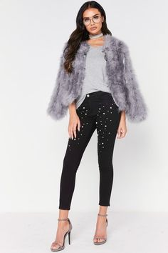 Molly Black Pearl Jeans