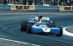 O Escocês Voador fez o que pôde no GP da Espanha: liderou e estava em terceiro quando bateu a bordo da Tyrrell 003