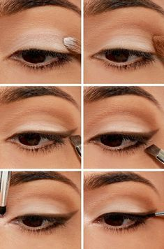 If you want to enhance your eyes and also improve your natural beauty, using the very best eye make-up tips and hints will help. You want to make sure you put on make-up that makes you look even more beautiful than you already are. Natural Eye Makeup, Eye Makeup Tips, Diy Makeup, Makeup Eyeshadow, Shimmer Eyeshadow, Eyeshadow Palette, Makeup Man, Cream Eyeshadow, 1950 Makeup
