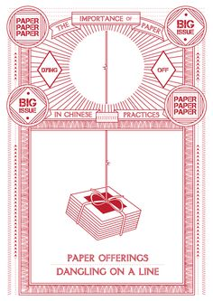 The Importance of Paper in Chinese Practices / Process by Ella Zheng, via Behance