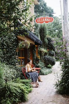Coffee and crepes... Julianna's cafe | Inman park Atlanta Georgia.... #Relax more with healing sounds: